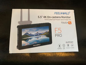 FEELWORLD F5 Pro 5.5 Inch DSLR Camera Field Monitor Touch Screen 4K HDMI Type C