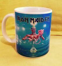 IRON MAIDEN 7th SON OF A 7th SON 1988-ALBUM COVER ON AN 11oz MUG.