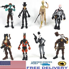 Fortnite Outlander Llama Skull Ghoul Trooper 8 PCS Action Figure Kids Gift Toys