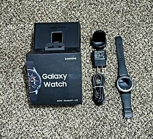 Original Samsung Galaxy Gear S3 Frontier R760 46mm Bluetooth Smart Watch Black