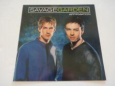 Savage Garden Affirmation 1999 Promo LP Record Photo Flat 12x12 Poster