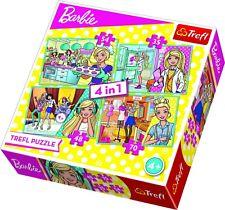 Trefl Puzzle 4w1 Barbie KARIERA