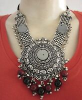 Tribal Jewelry Necklace Handmade Kuchi Banjara Bohemian Gypsy Fusion Belly Dance