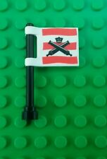 *NEW* Lego Imperial Cannon Flag 2x2 Stud Ships Boats Pirate Island Battles x 1