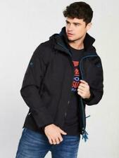 "Superdry Zip Front Windcheater Jacket - Black &Blue M / Chest 38""-40"""