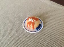 """18"""" doll food pancake breakfast plate fits American Girl Our Generation toy"""