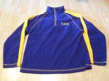 Women's Louisiana State LSU Tigers M (8/10) Fleece Pullover Jacket