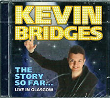 KEVIN BRIDGES (CD) - THE STORY SO FAR - LIVE IN GLASGOW - DVD - REGION 2 UK