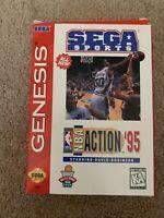 NBA Action '95 Starring David Robinson (Sega Genesis, 1995) ***UNTESTED***