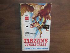 1961 Tarzan's Jungle Tales Edgar Rice Burroughs Four Square 284 VG-