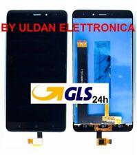 TOUCH SCREEN VETRO + LCD DISPLAY ASSEMBLATI Per XIAOMI REDMI NOTE 4 Nero