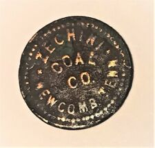 ZECHINI COAL CO. 5 cent COAL SCRIP of NEWCOMB, TENN near JELLICO, TN