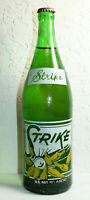 Endicott NY Rare Strike Soda Pop Bottle 28 oz ACL FULL Bowling Scene