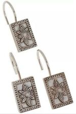 hand crafted shower curtain hooks set of 12