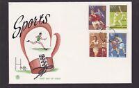 1980 Great Britain UK FDC Sports Dursley Glos royal mail N-47