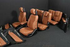 Mercedes X166 GLS Leder Ausstattung 7 Sitzer BRAUN 2x Memory 2x FOND Display