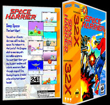 Space Harrier - 32X Reproduction Art Case/Box No Game.