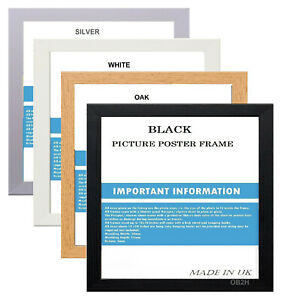 A1 A2 A3 A4 A5 AND SQUARE PICTURE PHOTO FRAMES VARIOUS SIZES