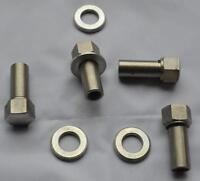 Classic Mini Wheel Nut Set x4 Rev09 For Revolution + Mamba Alloy Wheels 3/8 UNF