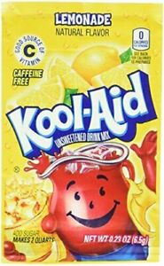 Kool-Aid Soft Drink Mix - Lemonade Unsweetened (Pack of 12)