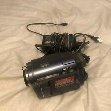Sony Handycam Ccd-Trv328 Hi-8 Analog Camcorder Bundle Great Condition