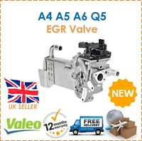 For Audi A4 A5 A6 Q5 Valeo EGR Valve With EGR Cooler + Vacuum Bypass New