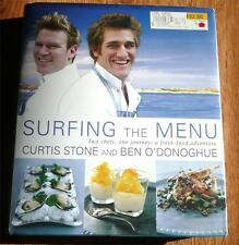 Surfing the Menu: Two Chefs One Journey  Ben O'Donoghue Curtis Stone HC VG-CLEAN
