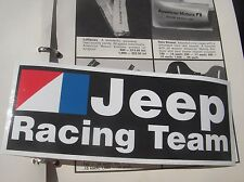 AMC Jeep Racing Team emblem decal CJ5 CJ7 Wagoneer J10 DJ5 Renegade BARGAIN