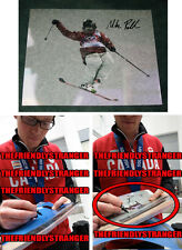 """MIKE RIDDLE signed """"2014 SOCHI OLYMPICS"""" Photo EXACT PROOF B Ski Halfpipe SILVER"""