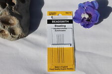 Size 13 Long Beading Needles,Crafts,Beads & Jewelry Making 4 needles per pack