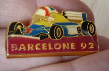 PIN'S F1 FORMULA ONE WILLIAMS GRAND PRIX DE BARCELONE 92 CASQUE MANSELL NIGEL