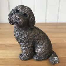 Frith Sculpture Jasper Cockapoo by Adrain Tinsley in Cold Cast Bronze - AT041