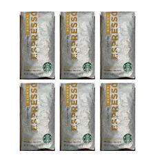 Starbucks Blonde Espresso Light Roast 1lb Whole Bean Coffee EXP 10/2020 (6 Bags)