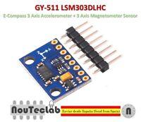 GY-511 LSM303DLHC E-Compass 3 Axis Accelerometer + 3 Axis Magnetometer Sensor