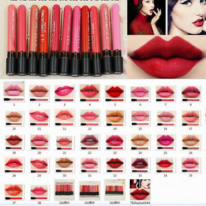 Waterproof Lipstick Matte Lip Gloss Long Lasting Liquid Lip Pen Makeup Beauty