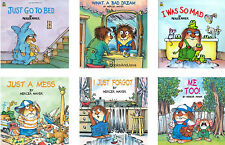 Little Critter (pb) Go to Bed,So Mad,Just a Mess ++ by Mercer Mayer 6 pk NEW