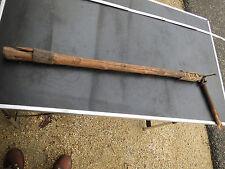 Ancien fleau a grains / blé/ vintage / articulation en cuir french antique
