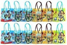 "Disney Pixar Toy Story Party Favor Goodie Gift Bag - 6"" Small Size (12 Packs)"
