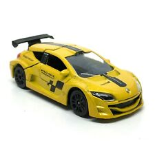 ° Majorette 212084009 renault Megane Coupe n4 gris-Racing Cars 1:64 nuevo