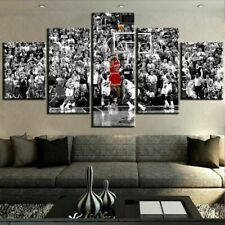 Michael Jordan NBA Chicago Bulls Basketball Star Canvas Prints Painting Wall Art