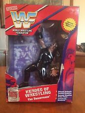 WWF 1997 The Undertaker Heroes Of Wrestling Action Figure Playmates Toys NIB