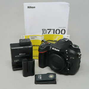 Nikon D7100 24.1 MP Digital SLR Camera - Black (Body Only) - 1,441 Clicks!