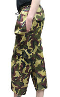 Children Camouflage 3/4 Trouser Kids Combat Military Camo Trouser Pants