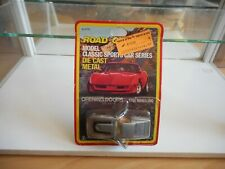 Road Champs Classics Sports Corvette in Grey on Blister