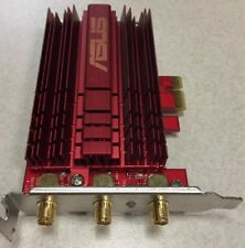 Asus PCE-AC68 802.11ac Dual-band Wireless-AC1900 PCI-E Adapter, No Antennas.$OBO