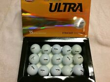 New listing 60  Wilson ULTRA White and Yellow   Mint/AAAA golf balls