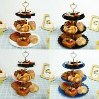 3 Layer Round Cake Stand Tray Home Wedding Party Cupcake Display Holder