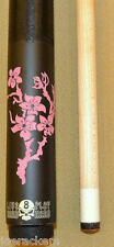 NEW Players D-LCH - Flower Pool Cue - FREE Case Jt. Caps & US Shipping