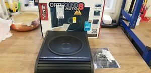 """Vibe Optisound 8 Underseat Active Car 8"""" Subwoofer , Amplifier 900w (ONLY WOOFER"""