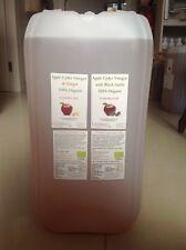 Apple Cider Vinegar with Black Garlic & Ginger (100% Organic)25Litre Human grade
